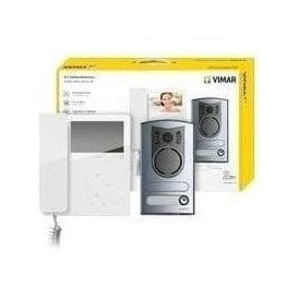 VIMAR Tab + 13F2 Video Entry Kit - One / Two Family