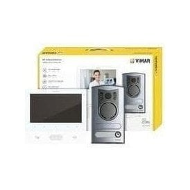 VIMAR Video Kit One / Two Family - 7in + 13F2 White