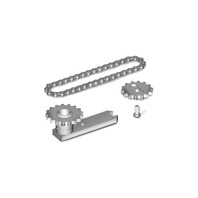 Roger Technology LT301/R 230V Heavy Duty Chain Set for 360' opening