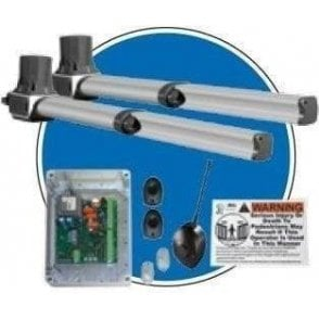 Alpha 330 Plus Paired UK Kit Swing 2 Amp (400mm stroke with limits) complete kit