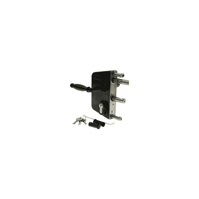 SIGNET LOCKS LOC2C350 Locinox gatelock 2 collar fixing 30mm to 50mm