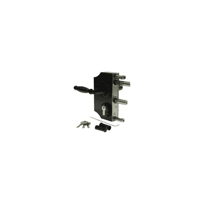 SIGNET LOCKS LOCO4060 ornamental locinox lock for gate frames 40mm to 60mm