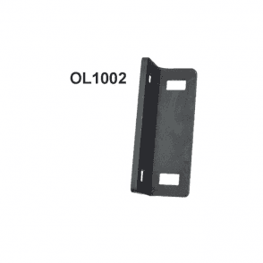 OL1002 for use when fixing lock to gates with narrow frames   ie. 50x10 flat bar or 50x25 box section