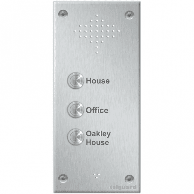 Telguard Bespoke with 2-24 buttons without keypad