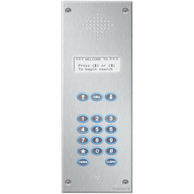 Telguard Millennium Backlit Multi User Intercom - Up to 1000 Users