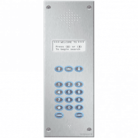 Millennium Backlit Multi User Intercom - Up to 1000 Users