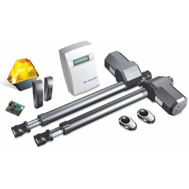 TOUSEK Automation Turn up 2 swing gate kit