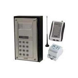 SS-FAK1 1 way flush mount audio intercom with keypad