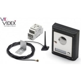 VIDEX 4K-1S/GSM 1 way intercom with 4000 Series front end