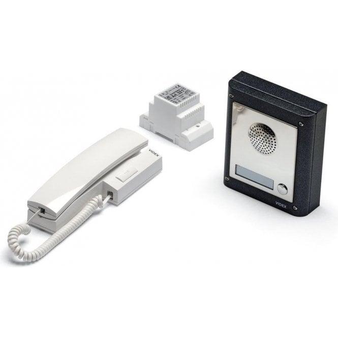 VIDEX 4K-1S 4000 Series 1 way intercom