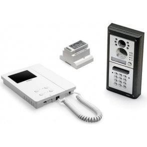 VIDEX CVKC4KS 1 way surface colour mount video intercom with keypad