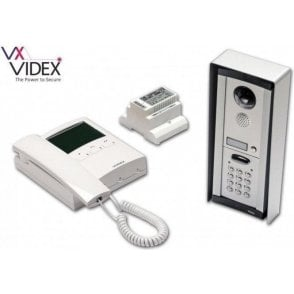 VIDEX CVKC8KS 1 way surface mount colour video intercom with keypad