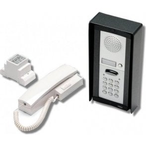 VIDEX DK8K-1S 1 way intercom with keypad