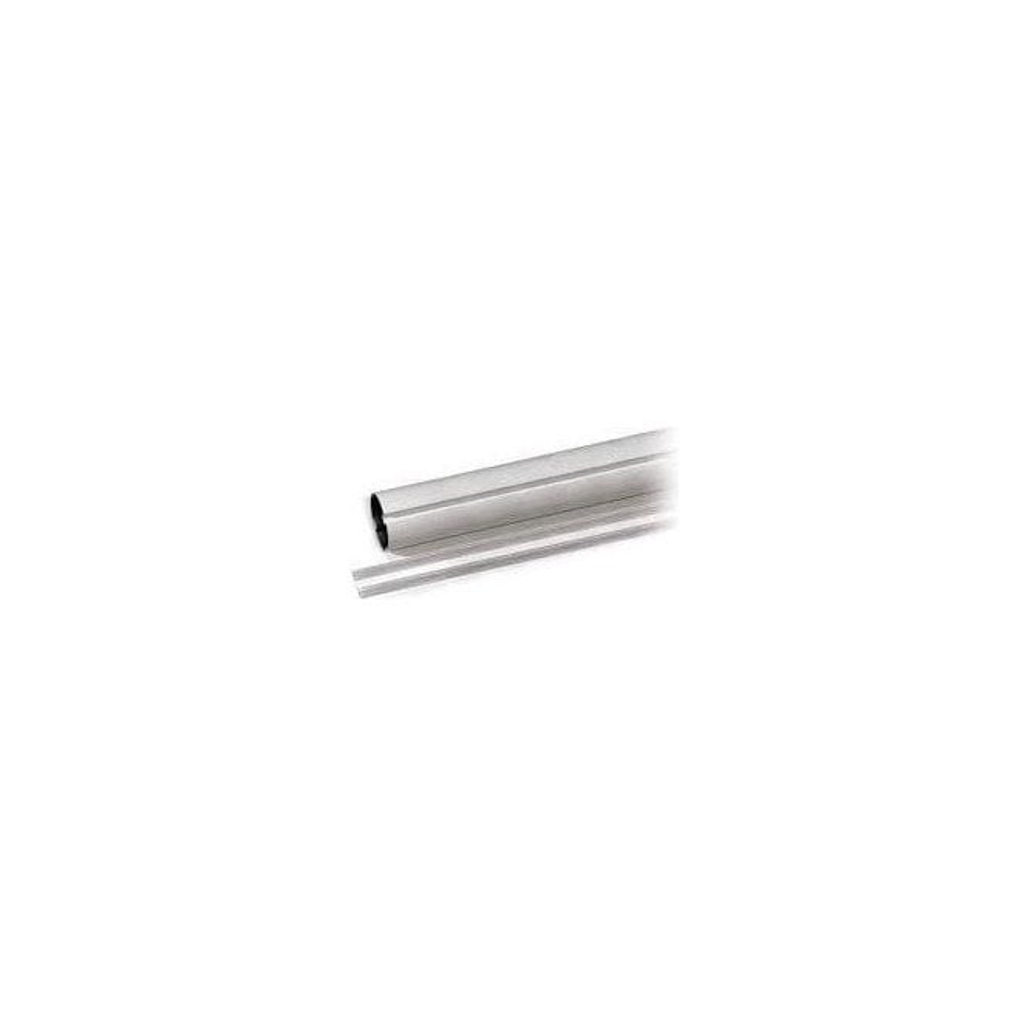 CAME white painted tubular aluminium bar 2m